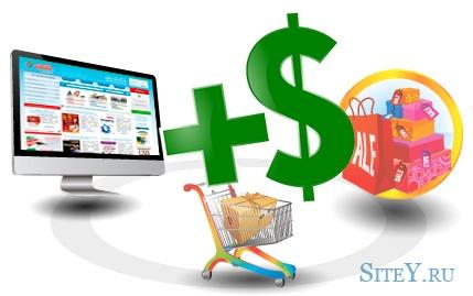 Финансовые расходы при создании сайта-магазина.
