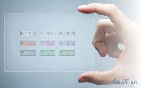 Эффект проявления картинки из прозрачной в реальную.