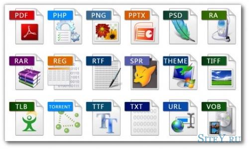 Допустимые имена файлов при создании сайта.