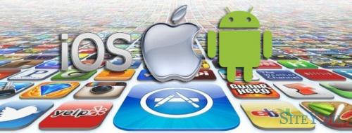 Заработок на создании приложений для ios и android.