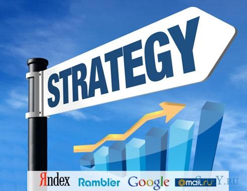 Построение оптимальной стратегии продвижения сайтов.